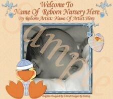 ~~DUCKLING DARLINGS REBORN BABY AUCTION TEMPLATE WITH FREE LOGO~~  DOUA