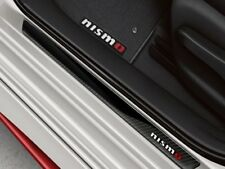NEW 17-2018 Nissan Sentra NISMO Front Door Sill Trim Kick Plates OEM T99G64FU0A