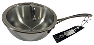 Calphalon Tri-Ply Stainless Steel Cookware - 3 Qt Covered Sauce Pan 1767724