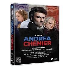 JONAS KAUFMANN GIORDANO ANDREA CHENIER Royal Opera DVD ALL REGIONS NEW