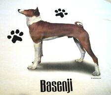"Basenji #2 T-shirt "" White "" 2Xl ( 50 ~ 52 )"