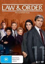 Law And Order : Season 11 (DVD, 2016, 6-Disc Set) - Region 4
