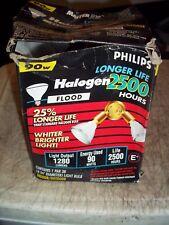 Philips 90W Halogen Floodlight Par38 In Out 1280 Lumens 90Par38/Hal/Fl28/Ll/120V