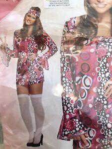 HIPPIE FANCY DRESS COSTUME...
