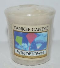 1 NEW YANKEE CANDLE WINDBLOWN VOTIVE CANDLE SAMPLERS HTF WIND BLOWN KITES