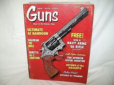 GUNS 8/1969~AGAWAM RIFLE~BERETTA AL-2~SPENCER ~WALTHER P38~COLT COBRA 45~SHARPS