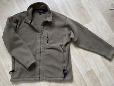 Men's Patagonia Synchilla Fleece Full Zip Jacket  Large  Khaki Green
