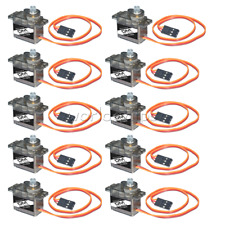 10PCS MG90S Metal Gear 9g Micro Servo Speed Torque for RC Plane Helicopter