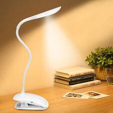Leselampe Klemmleuchte LED Schwanenhals Lampe zum Klemmen Deko Beleuchtung