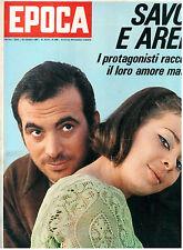 EPOCA N. 892 29 OTTOBRE 1967 MARIA BEATRICE SAVOIA ENZO MAJORCA JULIE CHRISTIE