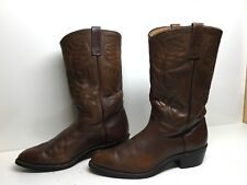 VTG MENS RED WING PECOS COWBOY BROWN BOOTS SIZE 9.5 D