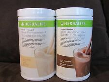 2 Original Herbalife Protein Shakes 750 g  (5 FLAVORS) BY 2 - GET FREE SHIPPING