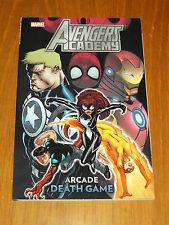 Avengers Academy Arcade mort jeu MARVEL GRAPHIC NOVEL 9780785156307