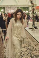 Pakistani Designer Inspired  Net Salwar Kameez Only Fabric