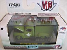 M2 Machines Auto Trucks Release 38 1949 Studebaker 2R Military Truck