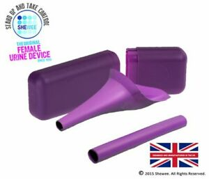 Shewee Flexi + Case - The ORIGINAL Female Urination Device - Purple