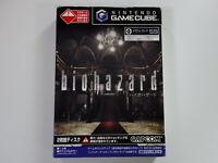 BIOHAZARD Nintendo Gamecube GC JAPAN