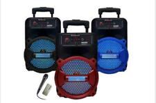 "8"" Bluetooth 1500 Watts Professional FM Radio Karaoke Multimedia Speaker Rock-8"