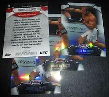 Junior Dos Santos UFC 2012 Topps Finest Refractor Card #23 160 155 146 131 117