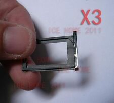lot of 3 Black Sim Card Tray holder Slot Replace Parts for iPhone 3G 3GS