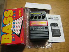 ARION MDI-2 BASS DISTORTION GUITAR EFFECTS PEDAL NOS BNIB