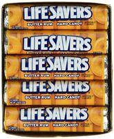 Lifesavers Rolls, Butter Rum, 20 rolls, 1.14 Oz