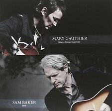 GAUTHIER MARY - BAKER SAM - WHEN A WOMAN GOES COLD - DITCH NEW VINYL RECORD