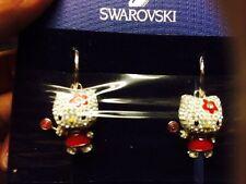 SWAROVSKI HELLO KITTY LOLLIPOP EARRINGS !!