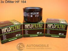 HIFLO HF 164 Filtro de aceite motocicleta BMW 3 piezas