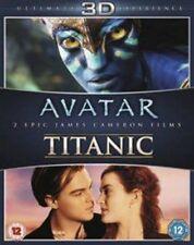 Avatar/Titanic [Blu-ray 3D + Blu-ray] [1997] [Region Free], DVD, New, FREE & Fas
