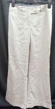 Flared Polyester Regular Size 30L Trousers for Women