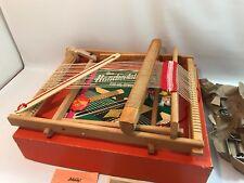 Vintage/Antique Table-Top Weaving Loom - German School KW Der Handwebstuhl