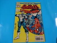 what if punisher had killed spiderman comics Marvel #58 Comic book