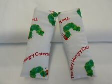 Baby Seat Belt Strap Covers Car Highchair Stroller- Very Hungry Caterpillar