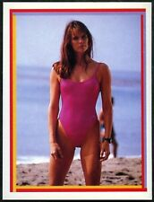 Alexandra Paul: Stephanie Holden #57 Baywatch Merlin 1993 Sticker (C1255)