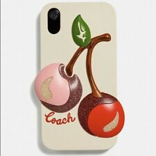 Coach IPhone XR Case With Cherries - NWT