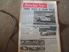 Motoring News 29 May 1969 Oulton TT Manx Rally Indy 500 GP Des Frontieres