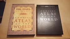 2001 The TIMES of LONDON Concise Atlas of the WORLD Hardcover Book 1st US Edt.