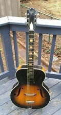 Vintage 1960s Regal by Harmony Arch Top guitar