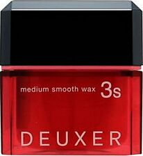 ☀ Number Three DEUXER Medium Smooth Wax 3S Hair Styling Dry Wax Paste 80g Japan☀