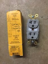 Receptacle, Hubbell Wiring Device-Kellems, HBL5362GY