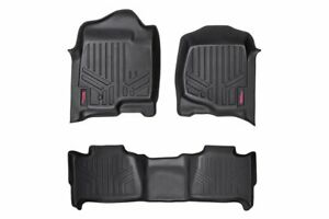 Rough Country Floor Liners (fits) 07-13 Chevy Tahoe GMC Yukon Bench |1st/2nd Row