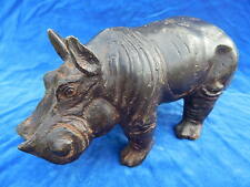 BRONZE ANIMALIER ANCIEN / Old animal bronze - HIPPOPOTAME / Hippopotamus - TOP !