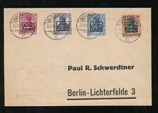 Cancelled to Order/CTO Cover European Stamps