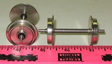 Large / G scale parts ~ Steel wheels
