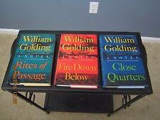 Fire Down Below-Rites of Passage-Close Quarters William Golding 1st/1st HC/DJ