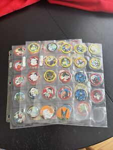 Dragon Ball Z Tazos/Pogs - Lot Of 60