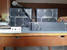 Impianto voce Toa Wireless con casse Davoli 220 W e amplificatore