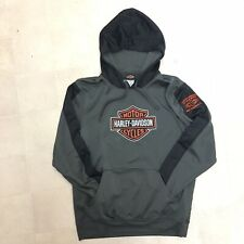 Harley Davidson Motorcycle Hoodie Sweatshirt Mens Medium West Palm Beach Florida