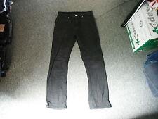 "Denim Co Straight Jeans Waist 28"" Leg 30"" Black Faded Mens Jeans"